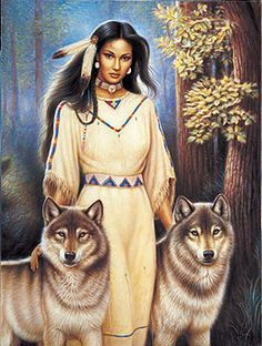 American Indians and wolves wallpaper - Google Search