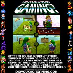 The Legend of Zelda: Ocarina of Time.  http://www.youtube.com/watch?v=ClBVg30CWAY