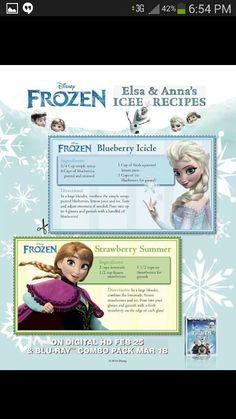 Disney Frozen Drinks