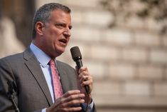 Sanctuary city mayors stand in defiance against Trump's orders On the same day that Peña Nieto cancelled his meeting with Trump, the Bulletin of Atomic Scientists advanced the Doomsday Clock to minutes to midnight. Action News, Bill De Blasio, Smoking Weed, Presidential Candidates, Transgender, Climate Change, Obama, New York City, Federal