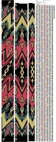 Жгуты из бисера схемы | VK