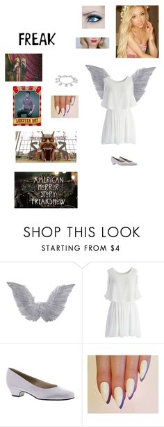 """American Horror Story: Freak Show OC"" by kelseystan97 ❤ liked on Polyvore featuring Hot Topic, Chicwish, Soft Style and Karen Kane"