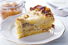 SweetLaab: Kohlrabi gratin with oyster mushrooms / Gratinovaný kaleráb s hlivou ustricovou / Gratin de chou-rave et pleurote en huître / Запеченная кольраби с вешенками Kohlrabi Recipes, Veggie Recipes, Vegetarian Recipes, Vegetarian Options, Drink Recipes, Keto Recipes, Oyster Mushroom Recipe, Mushroom Recipes, Kohlrabi Gratin