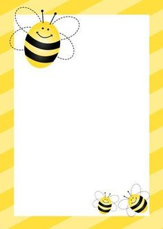 """The bumble bee baby shower is a perfect way to celebrate the arrival the little baby and also to honor the mom to be that will be the """"Queen Bee"""" of the party. Bee Invitations, Birthday Invitations, Invitation Templates, Birthday Background Design, Cute Bee, Birthday Gifts For Sister, Free Printables, Party Printables, Clip Art"""