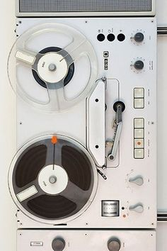 NICOONMARS Reel-To-Reel tape deck. #vintageaudio http://www.pinterest.com/TheHitman14/the-audio-tape-%2B/