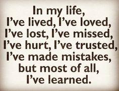 Always learning.... Always living