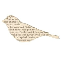 To Kill a Mockingbird Brooch Description This finch-shaped brooch is handmade by collaging pages from worn and abandoned novels onto an off-cut of wood Growing Up Book, Lawyer Gifts, Recycled Books, Harper Lee, To Kill A Mockingbird, Gifts For Readers, Paper Book, Book Crafts, Book Pages