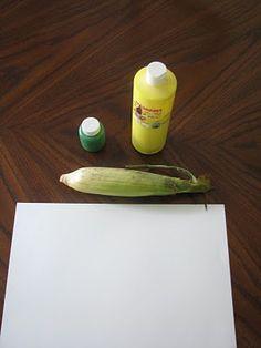 Play Create Explore: Corn Painting