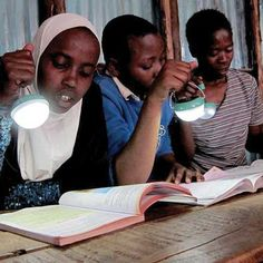 For light in their homes, many people around the world must spend about 30 percent of their daily income on kerosene-based fuels to burn in makeshift lamps, emitting toxic fumes. Solar light bulbs by Nokero offer a promising solution.data-pin-do=