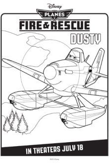 Disneys Planes Coloring Page