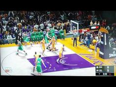 NBa2K16. XBOX LIVE LAKERS-BOSTON