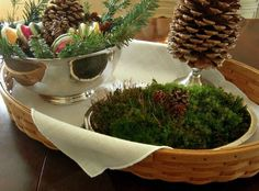 Transitioning Home Decor Effortlessy from Christmas to Winter with Silver and Natural Elements
