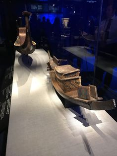 Boats to carry royalty up the Nile and into the Netherworld and afterlife.