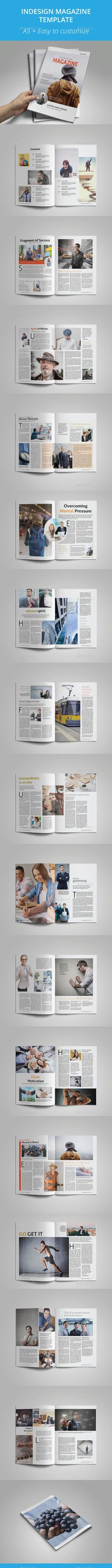 A Magazine Indesign Vol  Print  Template And Magazines