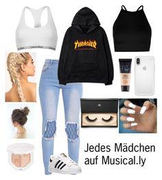 """""""Wer kennt sie nicht..."""" by maylyris on Polyvore featuring Calvin Klein, Boohoo, adidas, Speck, Lash Star Beauty, Puma und Maybelline"""