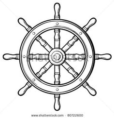 Sailboat Steering Wheel clipart | Rudder Stock Photos, Illustrations, and Vector Art