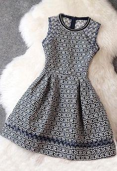 Splicing Sleeveless Dress