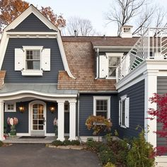 James Hardie Blue Siding Ideas, Pictures, Remodel and Decor
