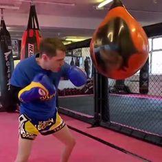 Martial Arts Workout, Martial Arts Training, Muay Thai Training, Boxing Training, Mma Workout, Boxing Workout, Back Workout Bodybuilding, Heavy Bag Workout, Boxing Techniques