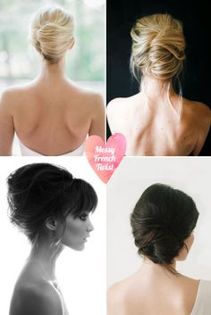 20 Messy Chic Summer Hairstyles Every Girl Should Know - Messy French Twist Summer Hairstyles, Messy Hairstyles, Pretty Hairstyles, Wedding Hairstyles, Wedding Hair And Makeup, Bridal Hair, Makeup Up, Hair Inspo, Hair Inspiration