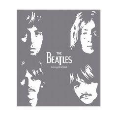 The Beatles cross stitch patternBlack album LP от LeRayonDeSoleil