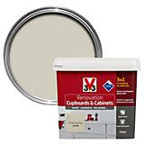 V33 Renovation Linen Smooth Satin Kitchen Cupboard & Cabinet Paint 750 ml | Departments | DIY at B&Q