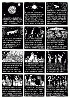 In Dungeon Quest the subject of magic is at once handled very blatantly and obscurely. The humor, the cartooniness and the subversive nature of the whole thing obscures the fact that it's a fantasy adventure, which obscures the fact that it's mythical and magical, which obscures the fact that it's map of psychological processes.' - Joe Daly