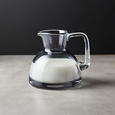 Stock Small Glass Pitcher