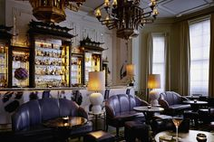 Officially 'The World's Best Bar' as voted for by Drinks International, Artesian is the deeply glamorous cocktail bar at The Langham hotel located at the top of Regent Street, in the heart of Londons West End.