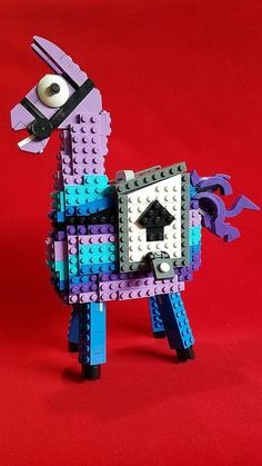 Don't Step On the LEGOs — (via Does this LEGO Loot Llama from Fortnite bring...