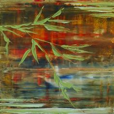 Leaves Near Water - SOLD