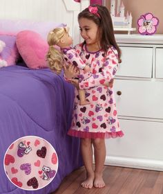Adorable #Valentines Gift for any little girl and her favorite doll