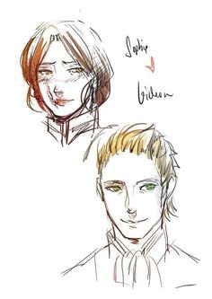 Shopie y Gideon lightwood