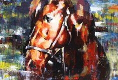 Head Study (Horse) b