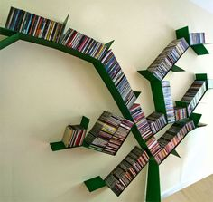 15 Creative Ideas To Store Your Books | http://www.designrulz.com/product-design/storage-items/2010/12/15-creative-ideas-store-books/