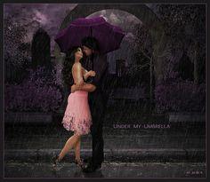 ☂ under my umbrella ☂ X ღɱɧღ