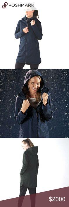 Lululemon Athletica Black Raincoat-8 Lululemon Athletica Black Raincoat-Size 8. Coming to! lululemon athletica Jackets & Coats