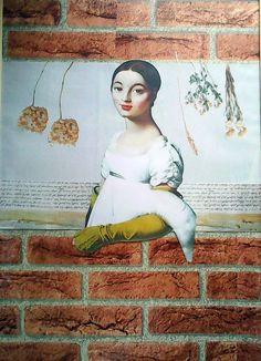 koláž 60 x 90 cm by Jana Černochová Collage, Painting, Art, Art Background, Collages, Painting Art, Kunst, Paintings, Collage Art