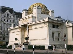 Photographic Print: The Secession Building, Vienna, Austria by Peter Thompson : Unusual Buildings, Interesting Buildings, Art Nouveau, Otto Wagner, Vienna Secession, Exotic Art, Destinations, Vienna Austria, Travel Memories