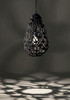 super kreative lampen - hängendes modell