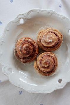 Mini-Zimtschnecken ohne Hefe! Perfektes Soulfood für kalte Tage