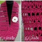 Fresh Air – A Free Crochet Summer Scarf