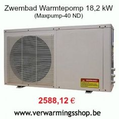 Zwembad warmtepomp aanbieding! Zie www.verwarmingsshop.be