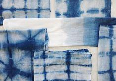shibori &  dip dyed indigo // sarah sherman samuel