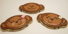 monkey baby shower cookies