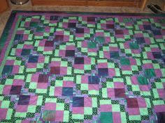 Maggie loves it when one of her students sends her pictures. This quilt, Dancing Butterflies was made by Carol Rick.