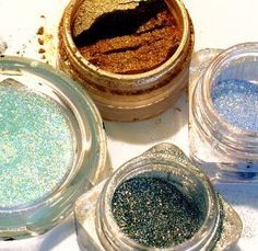 DIY Body Glitter Gel.  I haven't tried it yet, but I do recommend getting the glitter from a beauty supply or food supply to ensure it is safe to use on face and vegetable glycerin if gifting this to friends opposed to animal products.