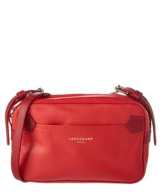 LONGCHAMP Longchamp 2.0 Leather Crossbody'. #longchamp #bags #shoulder bags #leather #crossbody #lining #