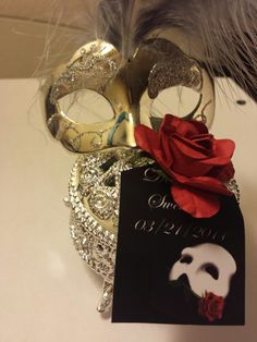 Phantom of the opera sweet 16 party favors...