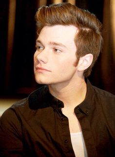 is that heaven or chris colfer i can't tell